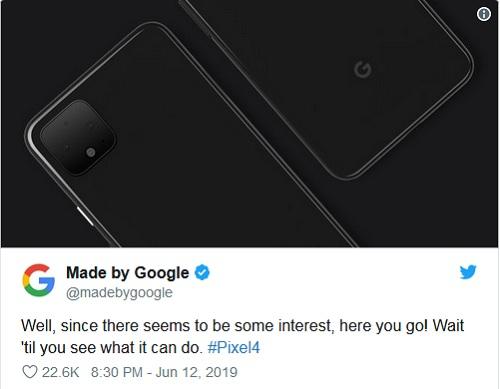 جوجل تنشر صور بيكسل 4 في تصميم مشابه لتصميم آيفون 11