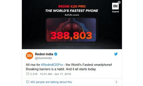 Redmi K20 Pro ينتزع اللقب من OnePlus 7 Pro