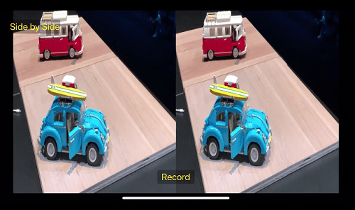تحديث iOS 13 - تسجيل الفيديو من كلتا الكاميراتين الخلفيتين