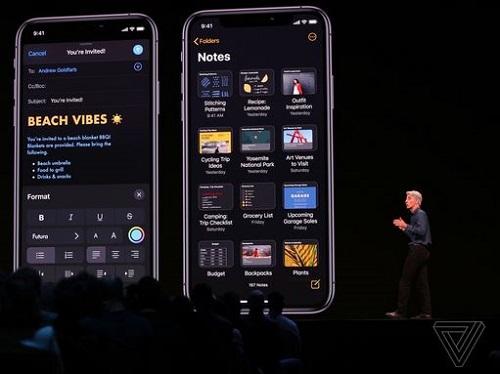 نظام iOS 13 .. الوضع الليلي