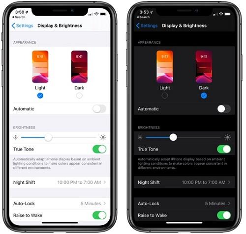 كيفية تفعيل الوضع الليلي في تحديث iOS 13؟