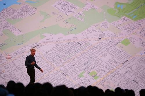 تحديث iOS 13 - تطبيق الخرائطتحديث iOS 13 - تطبيق الخرائط