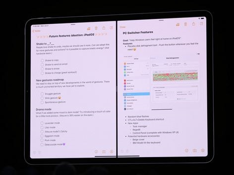 iPadOS - فتح نافذتين لذات التطبيق