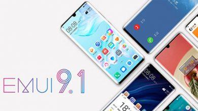 هواوي تكشف عن موعد إطلاق تحديث EMUI 9.1 لعدد من هواتفها!