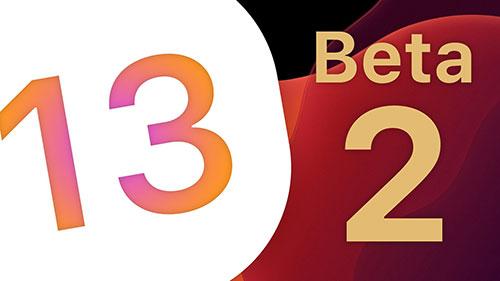 تحديث iOS 13 - إطلاق النسخة التجريبية الثانية iOS 13 Beta 2