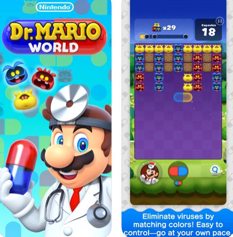 لعبة Dr. Mario World