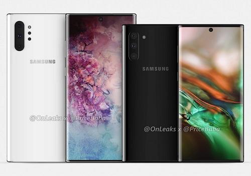 Galaxy Note 10 و Galaxy Note 10 Plus