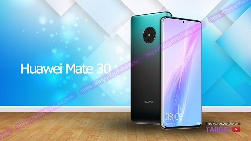 تخيل لشكل Huawei Mate 30