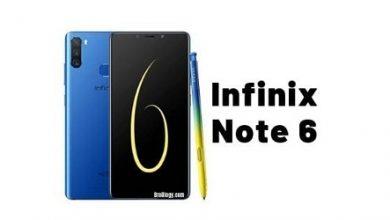 Photo of الكشف رسمياً عن Infinix Note 6 مع كاميرا ثلاثية وقلم X Pen بسعر رخيص!