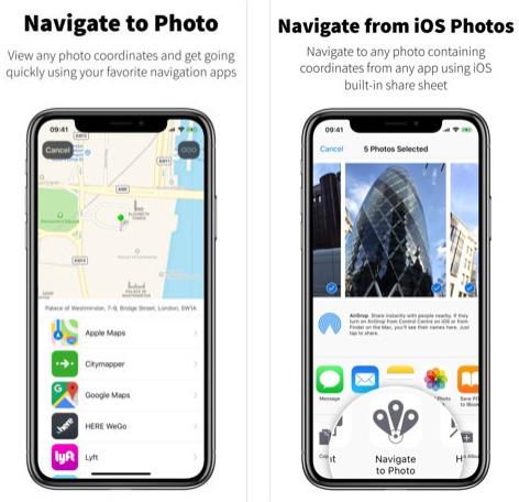تطبيق Navigate to Photo للوصول إلى مكان الصورة