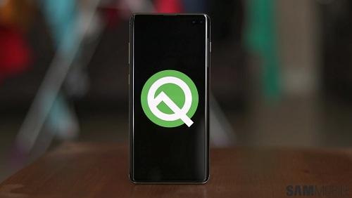 سامسونج تختبر تحديث اندرويد Q على هواتف جالكسي