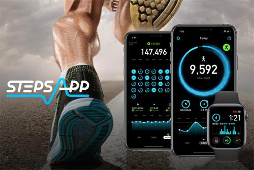 تطبيق StepsApp - أفضل تطبيق رياضي لحساب خطواتك ونشاطك البدني، للآيفون والأندرويد!