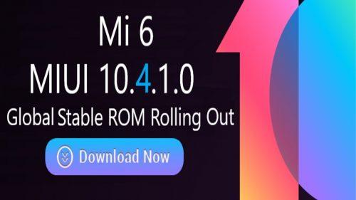 تحديث اندرويد 9 Pie يبدأ في الوصول إلى هاتف Xiaomi Mi 6