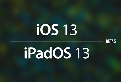 إطلاق النسخة التجريبية الخامسة من تحديث iOS 13 - ما الجديد؟!
