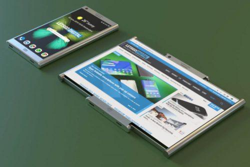 سوني تعمل على هاتف قابل للطي مع شاشة قابلة للسحب