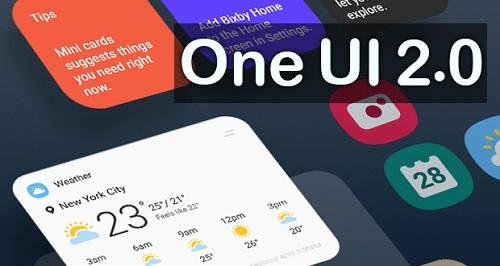 واجهة One UI 2.0