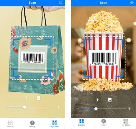تطبيق Barcode QR Reader