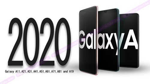 تفاصيل كاميرات هواتف سامسونج Galaxy A 2020 تظهر في تسريب مبكر