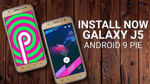 تحديث اندرويد 9 Pie يبدأ في الوصول إلى هواتف Galaxy J5 (2017)