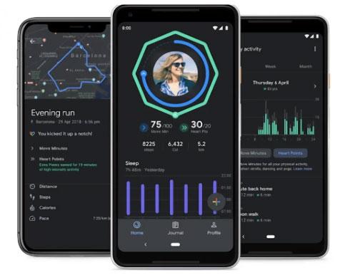 تطبيق Google Fit يحصل على تحديثات هامة - الوضع الليلي، تتبع النوم، وغير ذلك!