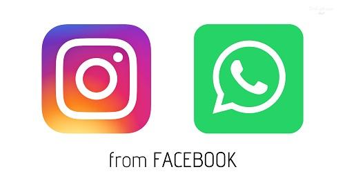فيسبوك تخطط لتغيير إسمي التطبيقين الشهيرين واتساب وانستجرام