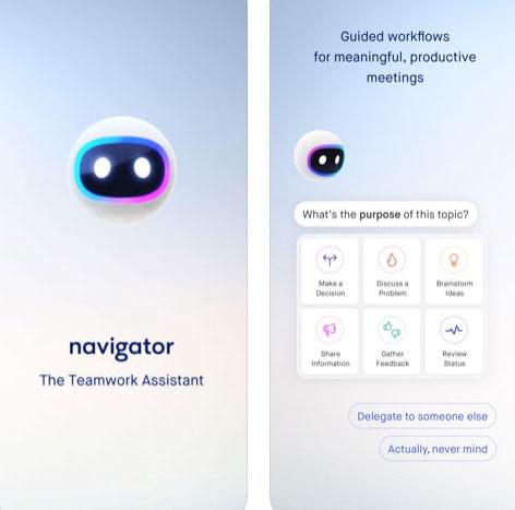 تطبيق Navigator لتنظيم المهام في فريق العمل