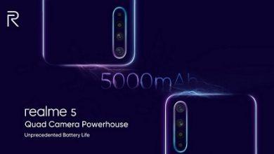 Photo of تسريب Realme 5 و Realme 5 Pro مع كاميرا رباعية وبطارية 5000 ملي أمبير!