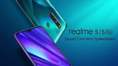 Photo of الكشف رسمياً عن Realme 5 و Realme 5 Pro مع كاميرا رباعية وبطارية 5000mAh بسعر قاتل!