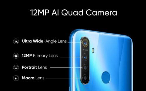 كاميرا Realme 5