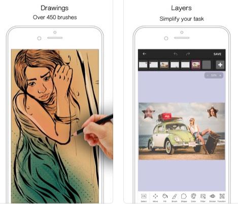 تطبيق Tiny Paint Pro - للرسم وتحرير الصور