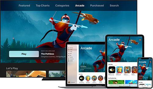 خدمة Apple arcade للألعاب