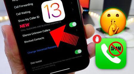 تحديث iOS 13 - تعرف على ميزة حظر المكالمات المزعجة Silence Unknown Callers