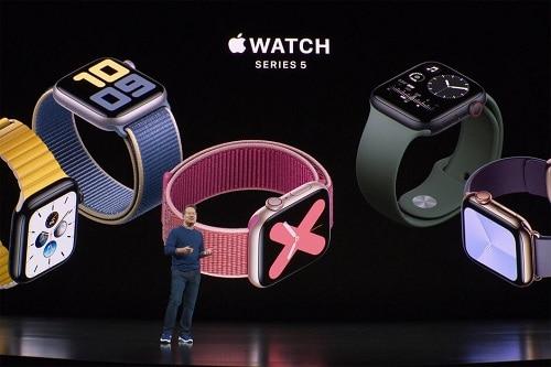 ساعة ابل الجديدة Apple Watch Series 5