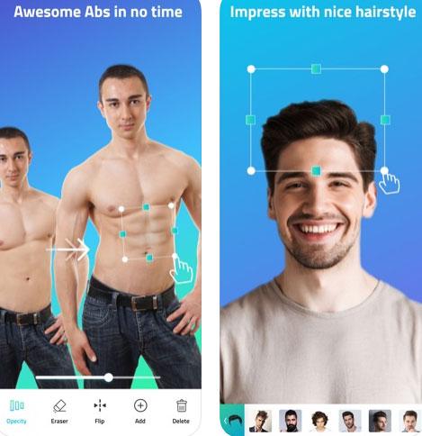 تطبيق Body Editor