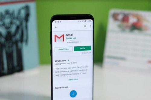 """تحديث Gmail الأخير يجلب الوضع الليلي """"Dark mode"""" لمستخدمي اندرويد"""