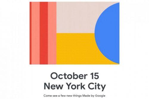إطلاق هواتف جوجل بيكسل 4 الشهر القادم