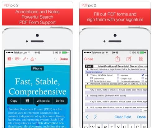 تطبيق PDF Pro 2