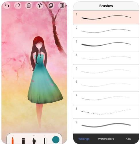 تطبيق Sketch Tree Pro للرسم على الآيفون والآيباد