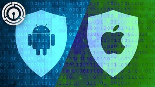تقرير - نظام الأندرويد بات أكثر أماناً مقارنة بنظام iOS
