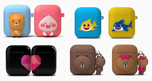 تصميمات جديدة لسماعات Apple AirPods