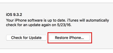 iOS 13 - التحديث عبر الآيتونز