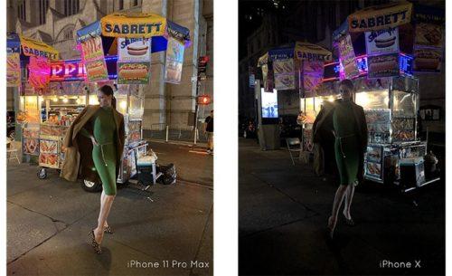 مقارنة بين التصوير الليلي على iPhone 11 Pro Max و آيفون X