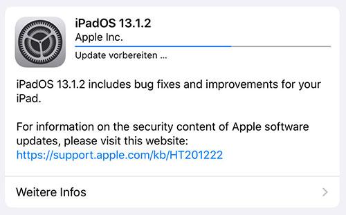 آبل تطلق تحديث iOS 13.1.2 لإصلاح مشاكل في الكاميرا والفلاش والآي كلاود وغيرها!