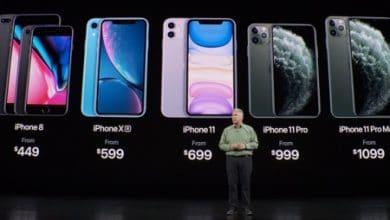 Photo of الأسعار الجديدة لهواتف الآيفون بعد إطلاق سلسلة آيفون 11 !
