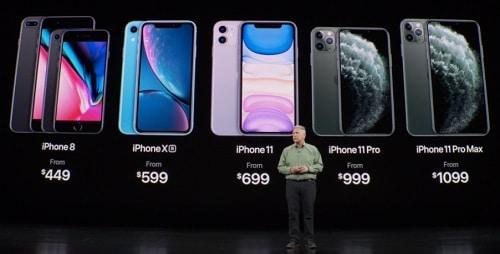 الأسعار الجديدة لهواتف الآيفون بعد إطلاق سلسلة آيفون 11