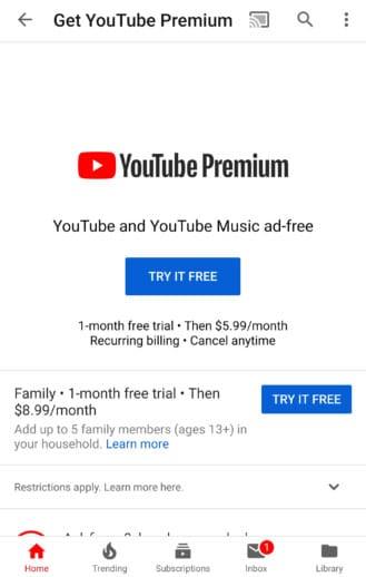 خدمة يوتيوب المميز Youtube Premium تبدأ في الوصول للدول العربية - تعرف عليها