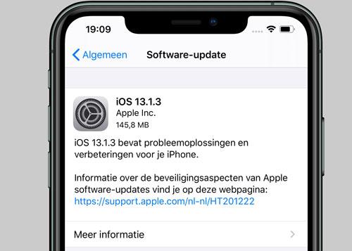 آبل تطلق تحديث iOS 13.1.3 لإصلاح مشاكل في تطبيقات النظام