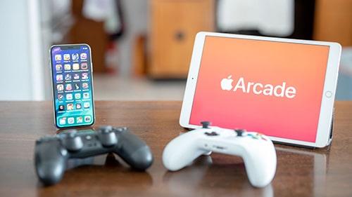 منصة آبل أركيد Apple Arcade للألعاب تضم ألعاباً تدعم أذرع التحكم