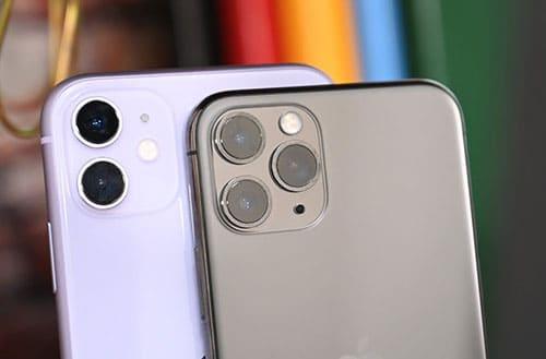 كاميرا هواتف آيفون 11 وآيفون 11 برو