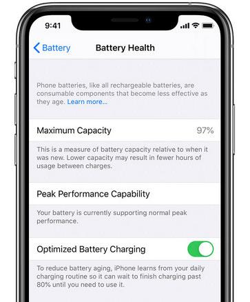 """تحديث iOS 13 - تعرف على ميزة """"شحن البطارية المحسن"""" التي تحمي بطارية جهازك!"""